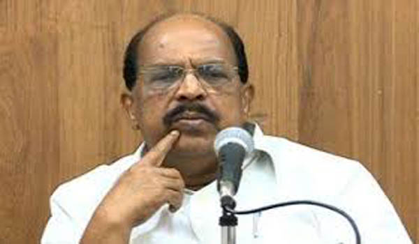 court ordered to charge case aganist minister g sudhakaran