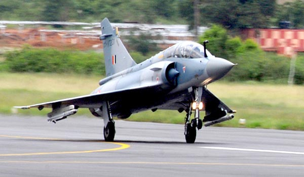 fighter aircraft crashes PILOT DIED