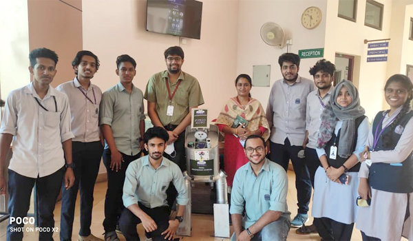 MEDICAL ROBOT Developed by Engineering student
