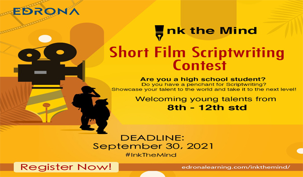 Ink the Mind - A short film screenplay competition